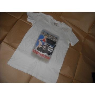 Koszulka TRUCKS & TRAILERS Roz.S - NOWA - Kobieta