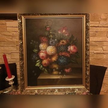 Obraz olejny malowany na płótnie