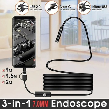 Kamera inspekcyjna endoskopANDROID USB 5m -5,5mm