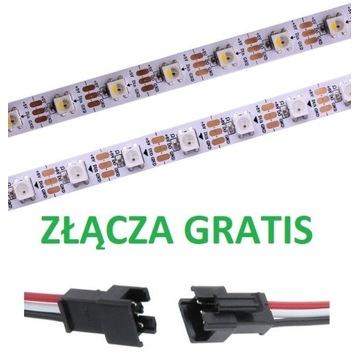 Cyfrowa Taśma LED ws2812b 5V 60d/m 1M arduino