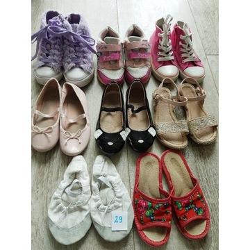 Buty rozmiar 29 używane 8 par.