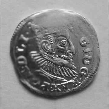 ZYGMUNT III WAZA - TROJAK 1596 POZNAN