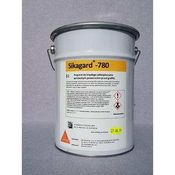 Sikagard -780 antygrafiti, bezbarwna powłoka
