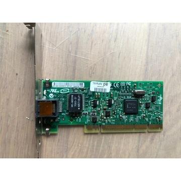 Karta sieciowa Intel Gigitabit na PCI (nie expres)