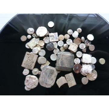 Styki, srebro, odzysk srebra, 120g