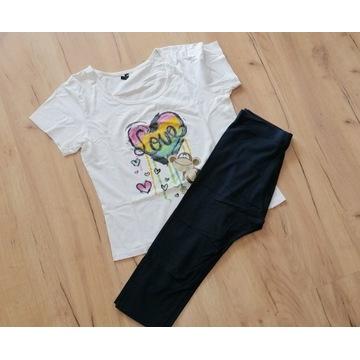piżama bluzka spodenki noszona używana fetysz