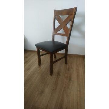Duży stół rozkładany + krzesła