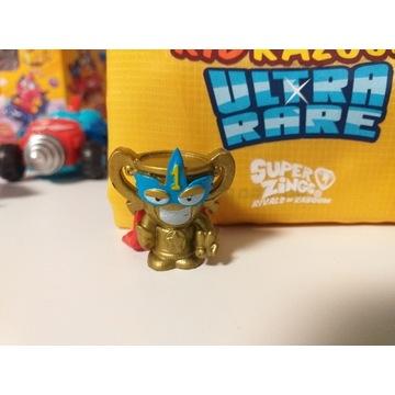 figurka Super Zings seria4 Złoty Puchar SUPER RARE