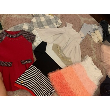 Sukienki 2 latka paczka 5 sukienek