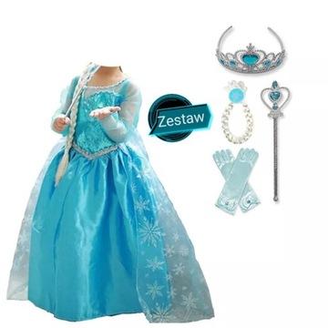 Sukienka Elsa, Akcesoria Frozen