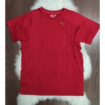 Czerwona koszulka Puma L