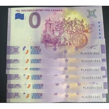 0 euro Bitwa pod Legnicą anniversary 2021