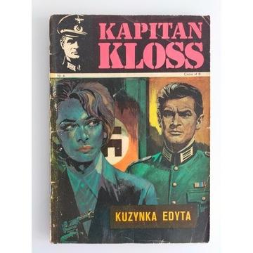 Kapitan Kloss Kuzynka Edyta wydanie pierwsze