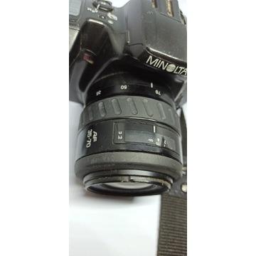 Aparat Dynax Minolta 500si z obiektywem AF 35-70