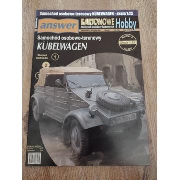 Model kartonowy Answer Kubelwagen