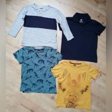 Koszulki T-shirt zestaw - JBC H&M ZARA