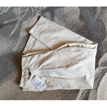 Spodnie Zara bawelna