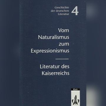 Geschichte der deutschen Literatur. Band 4