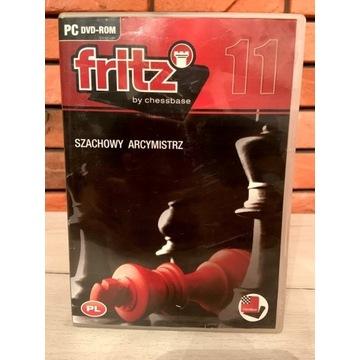 FRITZ 11 BY CHESSBASE- SZACHOWY ARCYMISTRZ PC DVD
