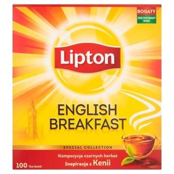 Herbata czarna LIPTON ENGLISH BREAKFAST 100TB