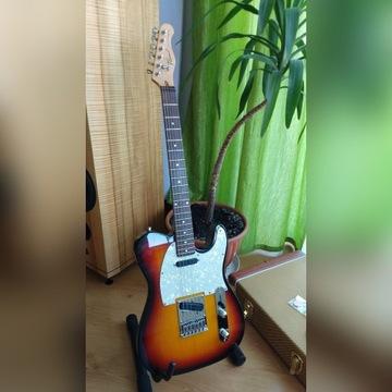 Gitara Telecaster Flame Mayones Tell 1
