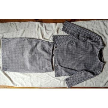 Komplet bluzka i spódnica w pepitkę Reserved 34