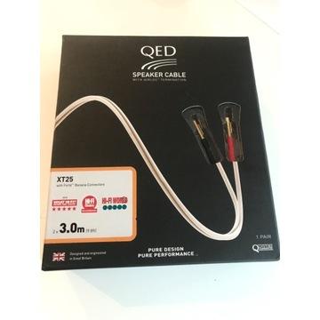 QED Silver Anniversary XT - kabel głośnikowy 2x3m