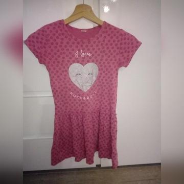 Sukienka dla dziewczynki 134 r