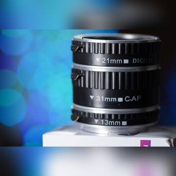 Pierścienie Pośrednie Makro Canon AF - Idealne