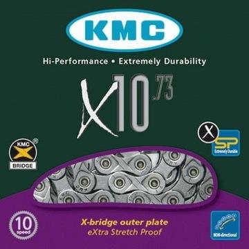 Łańcuch rowerowy KMC X10.73 10 rzędów 114 ogniw