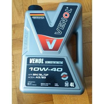 Olej VENOL 10W40 półsyntetyczny 4L