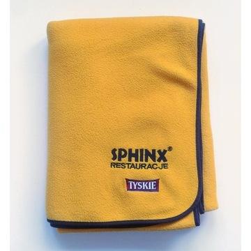 Żółty KOCYK z legendarnej restauracji SPHINX