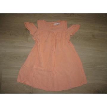Reserved bluzka tunika morelowa 110-116 cm 5-6 lat