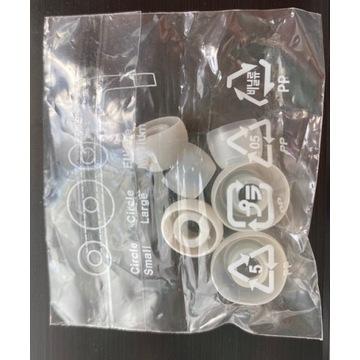 Sylikonowe wkładki do słuchawek dousznych