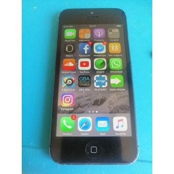 iPhone 5 16 GB CZARNY