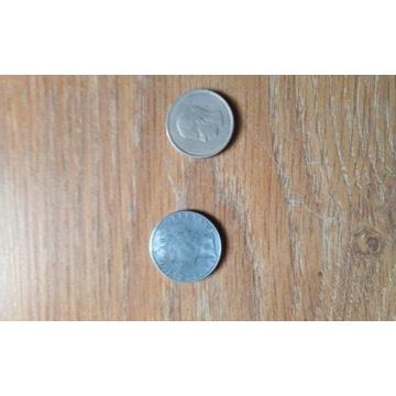 Moneta Belgiqve 20 f Moneta Repvbblica italiana L