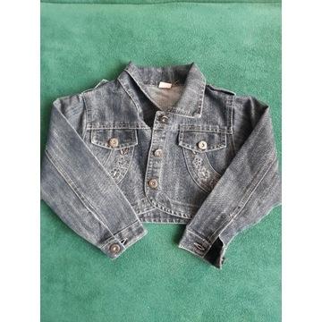 Jeansowe bolerko dla dziewczynki 110-116