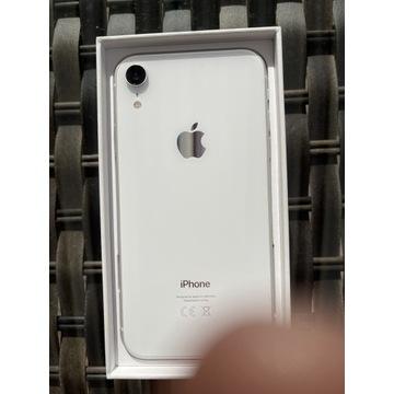 iPhone Xr 128 GB White idealny stan etui gratis