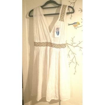 Sukienka grecka bogini przebranie kostium Atena