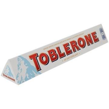 Toblerone biała 100 gram