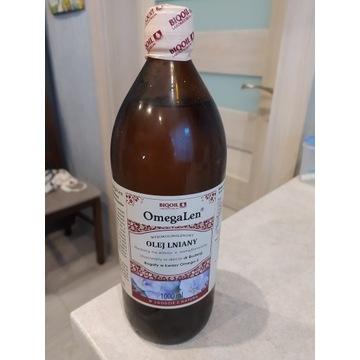 Olej lniany BioOil 1 L budwigowy OmegaLen