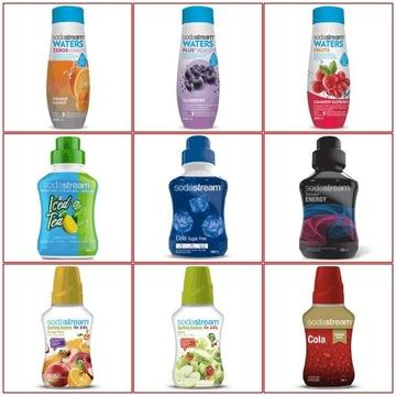 Koncentrat syrop SodaStream różne smaki AKCJA!