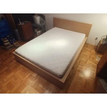 Łóżko IKEA Malm 140x200 z materacem
