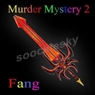 ROBLOX Murder Mystery 2 Fang