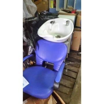 myjnia fryzjęrska + wyposarrzenie salonu