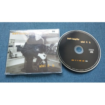 Mark Knopfler - What It Is [CD-single]