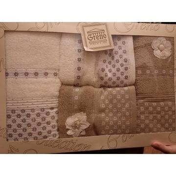 Zestaw Greno 4 ręczniki