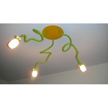 LAMPA SUFITOWA + KINKIET SNAKEY MASSIVE WĘŻE