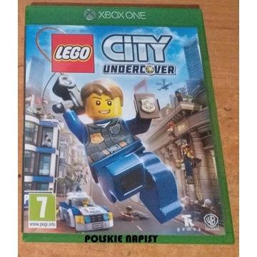 LEGO CITY UNDERCOVER TAJNY AGENT  XBOX ONE PL