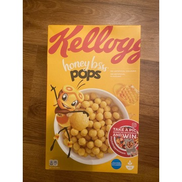 Płatki Kellogg's honey pops